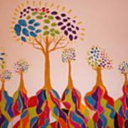 Fantasy Trees Poster