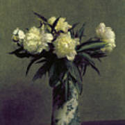 Fantin-latour: Peonies, 1872 Poster by Granger