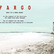 Fargo, This Is A True Story, Art Poster Poster
