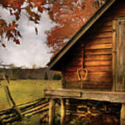 Farm - Barn - Shed Out Back Poster