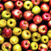 Farm Apples Poster