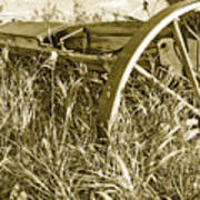Farm Equipment At Rest Poster