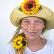 Farm Girl Poster