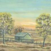 Farm In The Dell Poster