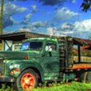 Farm Stand Truck Poster