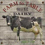 Farm To Table Dairy-jp2629 Poster