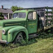 Farm Truck Poster