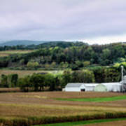 Farmland In Pennsylvania Poster