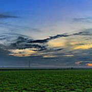 Farmland Panorama Poster