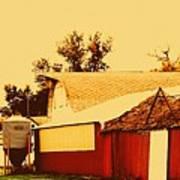 Farmyard Poster