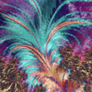 Feather Abstract Poster