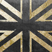Fashion Flag United Kingdom Poster