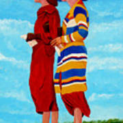 Fashionable Ladies Poster