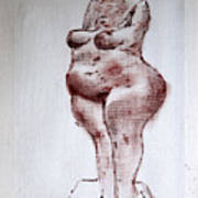 Fat Nude Woman  Poster