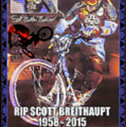 Father Of Bmx Poster