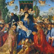 Feast Of Rose Garlands Poster