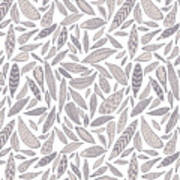 Feather Pattern Poster