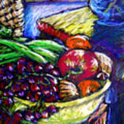 February Still Life In Angelinas Kitchen 1 Poster