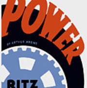 Federal Theatre Project Presents Power Wpa Poster