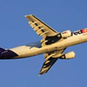 Fedex Airbus A300f4 605r N692fe Phoenix Sky Harbor December 23 2010 Poster