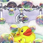 Feelin Ducky Poster