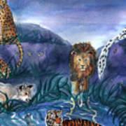 Feline Origins Poster