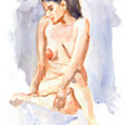 Female Nude 03 Poster