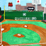 Fenway Park Poster by Jeff Caturano