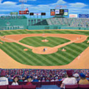 Fenway Park Poster by Richard Ramsey