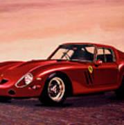 Ferrari 250 Gto 1962 Painting Poster