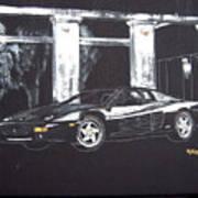 Ferrari 348 Gtr Testarrossa Poster
