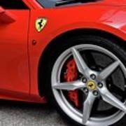 Ferrari 488gtb Poster