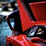 Ferrari 5 Poster
