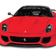 Ferrari 599xx Poster