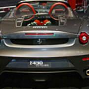 Ferrari F430 Spyder Convertible Poster