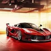 Ferrari Fxx K  1 Poster