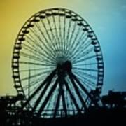 Ferris Wheel - Wildwood New Jersey Poster