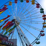 Ferris Wheel 6 Poster