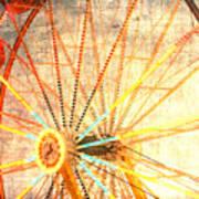 Ferris Wheel Jazz Poster