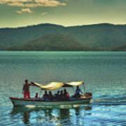 Ferry - Lago De Coatepeque - El Salvador Poster