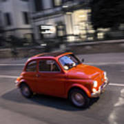 Fiat 500, Italy Poster