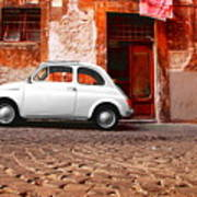 Fiat 500 Poster