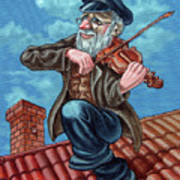 Fiddler On The Roof. Op2608 Poster