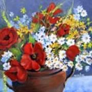 Field Bouquet Poster