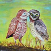 Field Owls  Poster