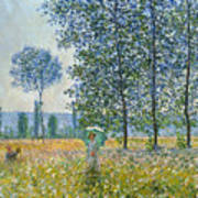 Fields In Spring, 1887 Poster
