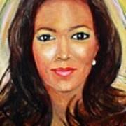 Fiercewomen Portrait Of Adrienne Poster