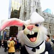 Fifth Ave Easter Bunny Poster