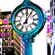 Fifth Avenue Building Clock New York  Poster