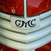 Gmc Grill Poster